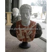 Busto de piedra de la cabeza de la escultura del mármol para la estatua de la estatuilla (SY-S272)