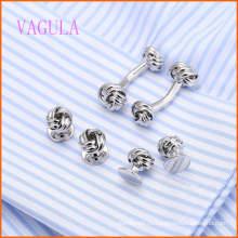 ВАГУЛА мода Посеребренная Свадебные апартаменты gemelos Запонки набор