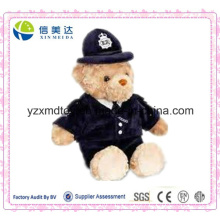Policial Teddy Bear Soft Plush Toy