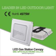 Station d'essence légère d'auvent de SNC LED allumant l'éclairage de garage de stationnement 75w
