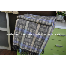 Woven Woolen Blended Throw (NMQ-WT042)