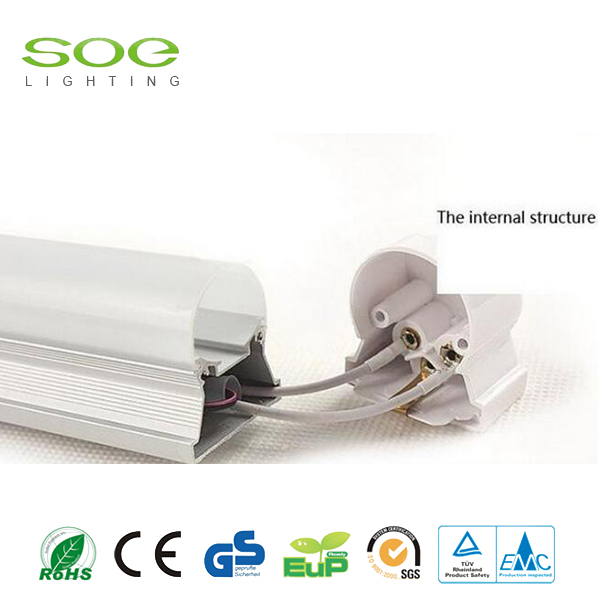 T5 Aluminium Integrative Bracket LED Tube Light