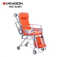 DW-AL001 Patient on a mobile ambulance stretcher