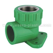 PPR Fittings-hembra codo placa de pared (cobre)