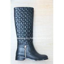 Fashion Lady High Heel Europe Women Knee Boots