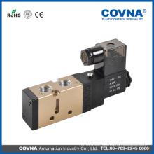 Control de aire DC12 / 24V AC220V 2/5 vías Electroválvula