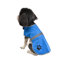 Blue Yellow Sustainable Reflective Strip Waterproof Wholesale Summer Pet Clothes Luxury