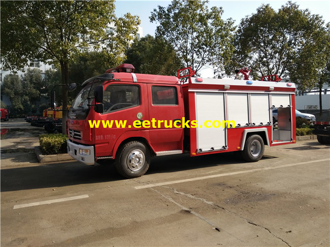 4x2 Customize Fire Fighting Trucks