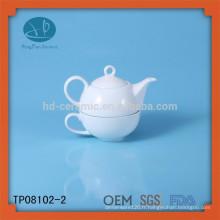 Ensemble de thé en céramique OEM, set de thé pour usage domestique, thé personnalisé pour la promotion, théière et tasse