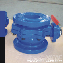 2 Pieces Wcb Flanged Type Trunnion Mounted Piggable Ball Valve