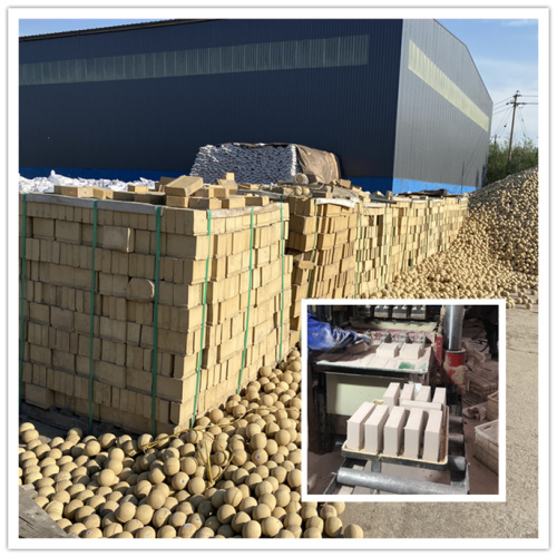 Middle Alumina Brick High Alumina Fire Bricks Futter