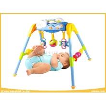 Baby-Spielzeug-Fitness-Studio-Sets mit 3 Rasseln und Musik für Baby