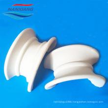 Ceramic random packing saddles rings for Mass Transfer