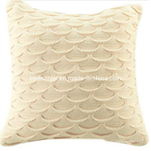Home Deco Knit Cushion Pillow Cover Wz0910