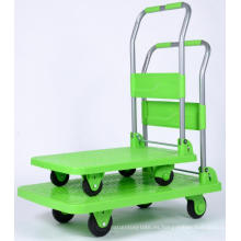Carro de mano de 4 ruedas de alta calidad