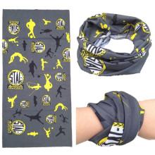 Custom Made Leopard Printing Girls Lady Multifunctional Outdoor Sports Polyester Microfiber Bandanas