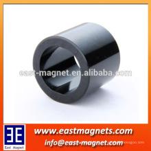 Anillo magnético multipolar / propiedades magnéticas anisotrópicas Imán de ferrita bipolar magnetizado por resina epoxi