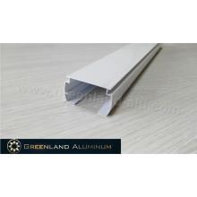 Horizontale Schattierungen Aluminium Kopfschiene Weiß Farbe