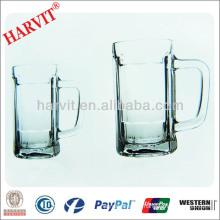 World Cup Beer Glass Tableware / Handle Wine Crystal Glass Cup Glassware Set / Beer Glass Cup