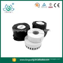 rolo de etiquetas térmico direto compatível com dymo