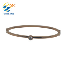 Single Bangle Designs New Style Cheap Wholesale Women Steel Bangle Bracelet