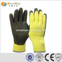 SUNNYHOPE yellow cotton winter gloves