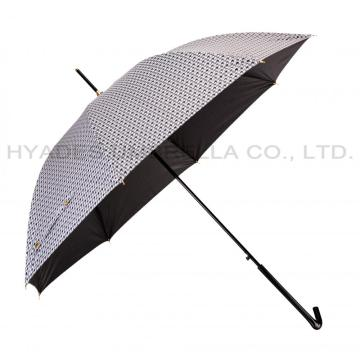 Leichter Chidori Pattern Auto Open Straight Umbrella