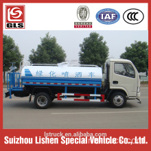 Dongfeng 5000 liter water truck 5 ton water tank truck