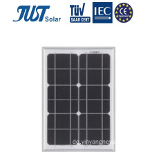 TÜV-zertifiziertes 8W-Mono-Solarpanel Made in China