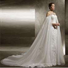 UK Shawl Mermaid Wedding Dress