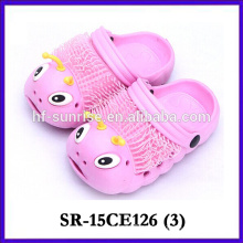 Lovely colorful carpenterworm garden shoes for kids