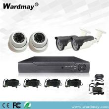 4chs 3.0MP Home Security Surveillance DVR-systeemkits