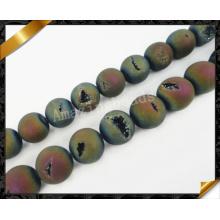 Модные каменные бусины, Друзи Друзи Бисер для браслета, Оптовые бусы (YAD022)