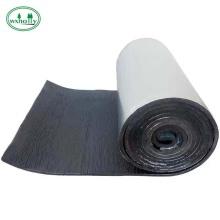 Feuille/tuyau isolant en caoutchouc mousse flexible en papier d'aluminium