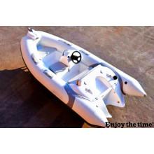 3.6 m Projetos de poço de barco de fibra de vidro de casco rígido, barco de pesca, barco a motor, barco inflável com CE China
