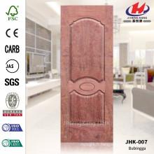 JHK-007 Top Design Middle Pakistan MDF CARB Plaque de porte en moule Bubinga Feuille de porte en bois