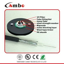 armoured fiber optical cable indoor/outdoor GYXTW