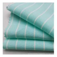 Hot selling high quality 100% rayon yarn dyed woven stripe poplin fabric