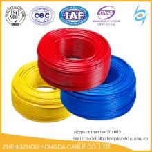 Cable eléctrico y cable de 6 mm de muestra gratis de buena calidad precio competitivo