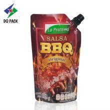 BBQ Stehbeutel mit Ausguss Sauce Verpackung