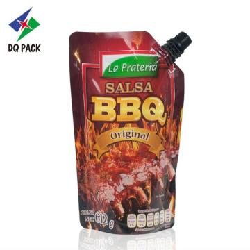 BBQ Stand up pouch with bico Sauce Packaging