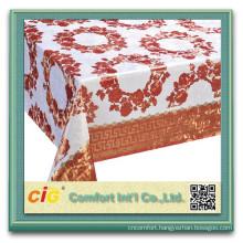 Cheap price pvc table cloth fabrics