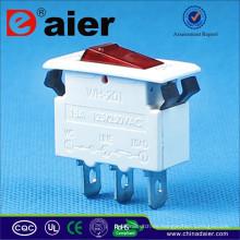Disyuntor Daier 3PIN DC, Interruptor Mini Interruptor de Circuito *