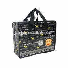 zipper bag plastic zipper bag zipper shopping bag PP WOVEN