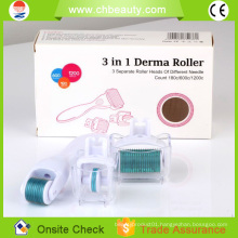 2015 Handsome face microneedle therapy SKin care derma roller price