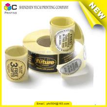Garantia de comércio rolo de adesivo adesivo de metal de alta qualidade