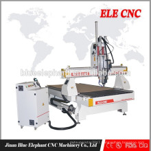 ELE 1325 cnc stone column carving machine router