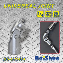 """1/4""""Drive Universal Joint Adapter with Chrome Plated for Hand Tool"""