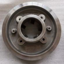Couvercle de plaque arrière de pompe Durco en acier inoxydable / fonte