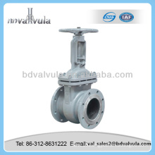 russian standard stainless steel oil pipeline gate valve
